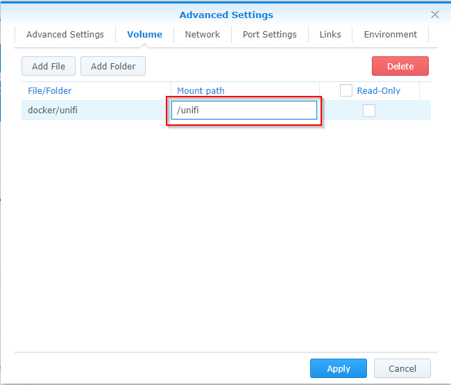 Install Unify Network Controller On Synology